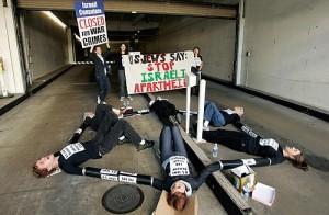 LA IJAN - Gaza Protest