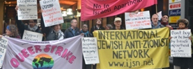 IJAN UK & Queer Strike at Pinkwashing in London